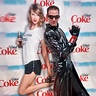 Photo #3 - Charlie's Angels-Inspired pose with Taylor Swift poster