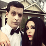 Photo #5 - Lurch and Morticia Addams