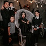 Photo #1 - This is a remake of an Addams Family photo. Some Photoshop manipulation to add Thing.