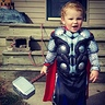 Photo #2 - My son,  Alexander, as Thor.