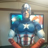 Photo #4 - My husband, Joe, as Captain America.
