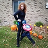 Photo #2 - Black Widow and Captain America take on trick or treating