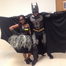 Photo #1 - Batman & a batgirl open wings