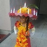Photo #1 - La muerte on her way to school
