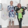 Photo #2 - Family costume: Butterfly catcher, mommy butterfly and baby caterpillar