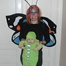 Photo #3 - Family costume: mommy butterfly and baby caterpillar