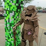 Photo #3 - I met another person in a cardboard costume!