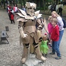 Photo #4 - At another event! Ive had people age 3 to 81 sign the armor