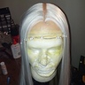 Photo #3 - The wig just before the last layers of hair were added.