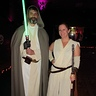Photo #3 - Rey & Luke Skywalker