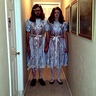 Photo #1 - Me and my fiancé as the Grady twins