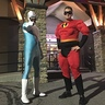 Photo #1 - Mr. Incredible and Frozone Go Bowling