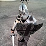 Photo #1 - Fox the Knight, ready for battle!