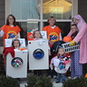 Photo #1 - The laundry crew standing together.