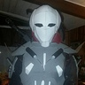 Photo #7 - Jesse wearing the uncompleted armor for the first time