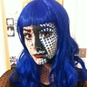 Photo #1 - Put the blue dots on the face and paint the black accent