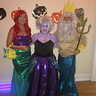 Photo #1 - Ariel, Ursula, and King Triton