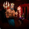 Photo #4 - Ariel and King Triton