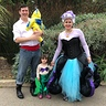 Photo #1 - Eric, Flounder, Ariel, and Ursula