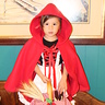 Photo #1 - Soon after first completing the Little Red Riding Hood costume project