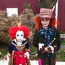 Photo #1 - The Mad Hatter and The Queen of Hearts