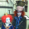 Photo #3 - The Mad Hatter and The Queen of Hearts