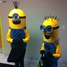 Photo #1 - Paige and Owen in Minion Costumes