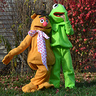 Photo #4 - Kermit & Fozzie, the best of friends