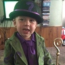 Photo #1 - Isaac as the riddler or also known to him as the mystery man