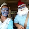 Photo #3 - Papa Smurf and Smurfette