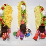 Photo #10 - Mini taco pinatas getting stuffed with candy!