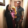 Photo #2 - Mother Gothel, Princess Rapunzel, and Flynn Rider