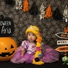 Photo #3 - Created a fun Halloween set in our own home for Rapunzel and Pascal!