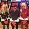Photo #1 - Xtina Adam and Gwen from the Voice