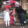 Photo #1 - Trick or Treating with my kids.