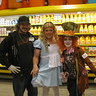 Photo #5 - Store worker wanted a picture with us.