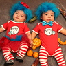 Photo #1 - Our 1st Halloween as Thing 1 & Thing 2