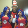 Photo #2 - Thing 1 Thing 2 with our Puss... I mean cat in the hat