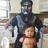Photo #1 - Leonidas and Daddy as an Immortal Warrior.