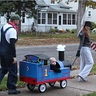 Photo #2 - trick-or-treating around the neighborhood!