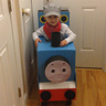 Photo #1 - Thomas the Train with his adorable conductor!