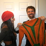 Photo #4 - El Jefe and El Guapo 'It's a sweater!'