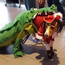 Photo #1 - Tick Tock Croc chasing Captain Hook
