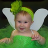 Cute Tinkerbell baby girl