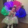 Photo #1 - Alyssa's costume reveal (inside so the lights show better)