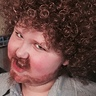Photo #2 - Bob Ross looks a bit creepy once the beard starts coming off.