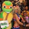 Photo #1 - Michelangelo costume from Teenage Mutant Ninja Turtles.