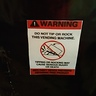 Photo #4 - warning label