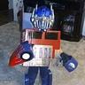 Photo #1 - Gramma shrunk the Transformer Optimus Prime