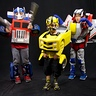 Photo #1 - Optimus Prime, Starscream, and Bumblebee
